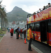 Sightseeing tours from the Waterfront