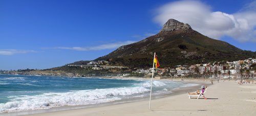 The Western Cape South Africa - Camps Bay beach