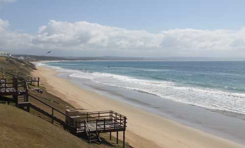 Fabulous beach in Mossel Bay South Africa, just one of hundreds of lovely beaches