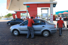 petrol station south africa
