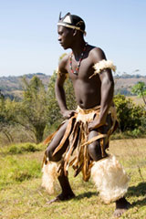 Kwazulu Natal - Zulu Tribe Dancer